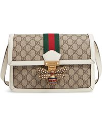 46efda24deb Lyst - Gucci Limited Edition Gg Supreme Top Handle Bag With ...