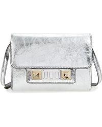 Proenza Schouler - Ps11 Leather Crossbody Wallet - - Lyst