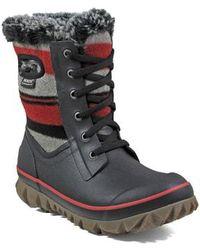 Bogs - Arcata Stripe Waterproof Snow Boot - Lyst