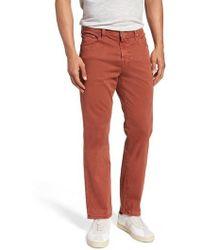 AG Jeans - Everett Sud Slim Straight Fit Pants - Lyst