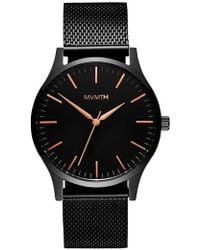 MVMT - The 40 Mesh Strap Watch - Lyst
