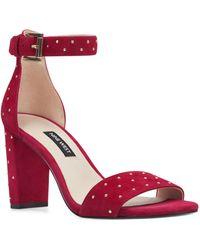Nine West - Notmyex Ankle Strap Sandal - Lyst
