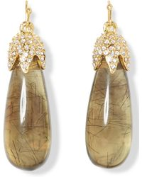Vince Camuto - Resin Drop Earrings - Lyst