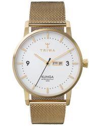 Triwa - Klinga Mesh Strap Watch - Lyst