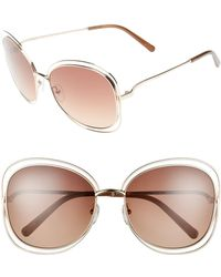 Chloé - Carlina 60mm Gradient Les Sunglasses - - Lyst