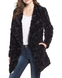 BB Dakota - It's All Happening Faux Fur Coat - Lyst