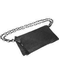 Whiting & Davis - Snakehead Mesh Belt Bag - - Lyst