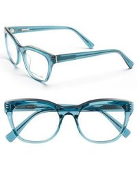 Derek Lam - 52mm Optical Glasses - Ocean Crystal - Lyst