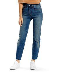 Levi's | Levi's Wedgie High Waist Straight Jeans | Lyst