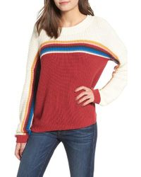 Rip Curl - Rise And Shine Stripe Sweater - Lyst