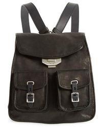 Rag & Bone - Small Leather Field Backpack - Lyst
