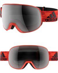 adidas - Progressor C Mirrored Spherical Snowsports Goggles - Energy/ Black - Lyst