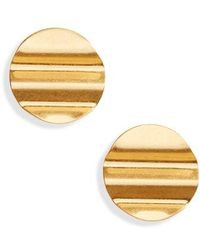 Madewell - Waves Disc Earrings - Lyst