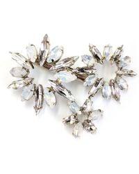 Brides & Hairpins - Camila Crystal Hair Clip - Lyst