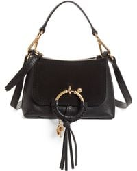 See By Chloé - Small Joan Suede & Leather Crossbody Bag - Lyst
