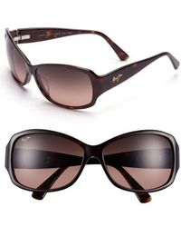 Maui Jim | Nalani 61mm Polarizedplus2 Sunglasses - Dark Tortoise | Lyst