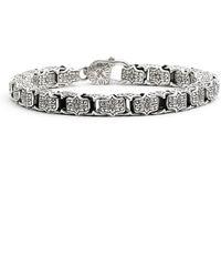 Konstantino - 'minos' Etched Medium Link Bracelet - Lyst