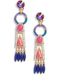 Elizabeth Cole - Primrose Earrings - Lyst