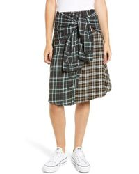 French Connection - Este Plaid Skirt - Lyst