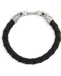 John Hardy - Legends Eagle Double Head Bracelet - Lyst
