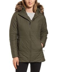 The North Face - Harway Heatseeker(tm) Water-resistant Jacket With Faux Fur Trim - Lyst
