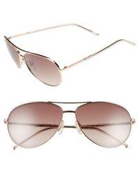 Marc Jacobs - 59mm Aviator Sunglasses - - Lyst