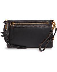 Frye - Carson Leather Wristlet/clutch - Lyst
