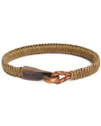 Caputo & Co. - Woven Bracelet - Lyst