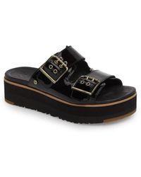 Ugg | Ugg Cammie Platform Slide Sandal | Lyst