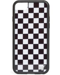 Wildflower - Checkered Iphone 6/7/8 Case - Lyst
