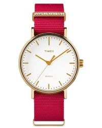 Timex - Timex Fairfield Nylon Strap Watch - Lyst