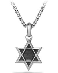 David Yurman - Star Of David Amulet - Lyst