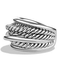 David Yurman - 'crossover' Narrow Ring - Lyst