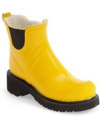 Ilse Jacobsen - Hornbaek 'rub 47' Short Waterproof Rain Boot - Lyst