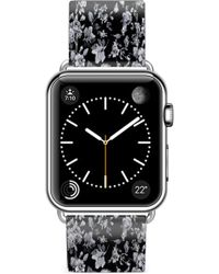 Casetify - Vintage Flowers Saffiano Faux Leather Apple Watch Strap - Lyst