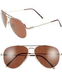 Electric - 'av1' 58mm Aviator Sunglasses - Lyst