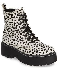 7365c62e9b5f Jeffrey Campbell - District-f Genuine Calf Hair Platform Boot - Lyst