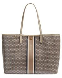 Tory Burch - Gemini Link Coated Canvas Tote - Metallic - Lyst