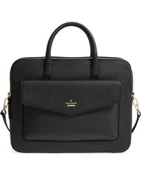 Kate Spade - 13-inch Leather Laptop Bag - Lyst
