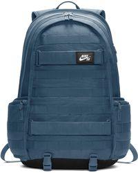 7754d3bc2950 Lyst - Nike Swimmer Backpack in Blue for Men