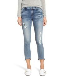 Kut From The Kloth - Reese Ripped Ankle Jeans - Lyst