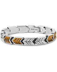 David Yurman - Chevron Link Bracelet - Lyst