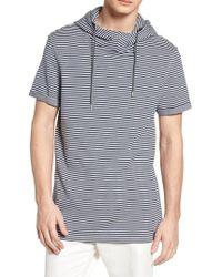 Scotch & Soda - Hooded T-shirt - Lyst