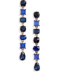 Shashi - Loren Drop Earrings - Lyst