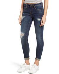 Vigoss - Jagger Distressed Skinny Jeans - Lyst