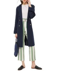 TOPSHOP - Mary Kate Trench Coat - Lyst