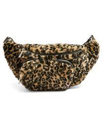 TOPSHOP - Baxter Leopard Belt Bag - - Lyst