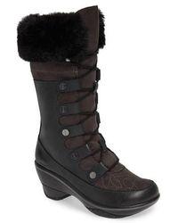 Jambu - Cruiser Faux Fur Trim Boot - Lyst