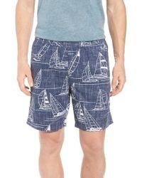Reyn Spooner - Newport 2 Honolulu Classic Fit Print Shorts - Lyst