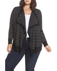 Sejour - Button-up Waterfall Cardigan - Lyst